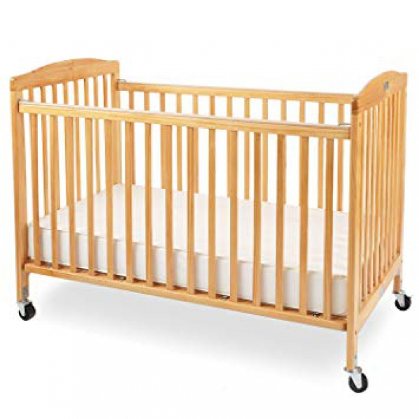 BabyQuip - Baby Equipment Rentals - Full Sized Portable Crib with Linens - Full Sized Portable Crib with Linens -