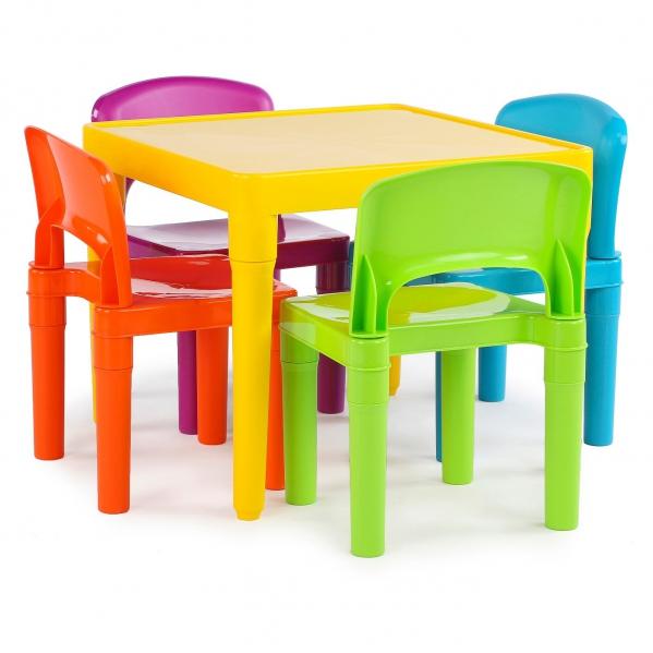 BabyQuip - Baby Equipment Rentals - Kids Table and Four Chairs - Kids Table and Four Chairs -