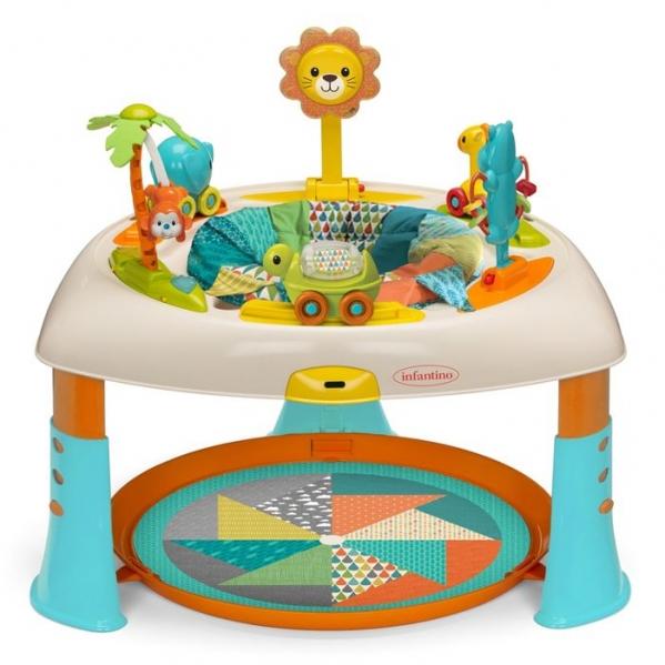 BabyQuip - Baby Equipment Rentals - Infantino Sit Spin Stand Entertainer 360 Activity - Infantino Sit Spin Stand Entertainer 360 Activity -