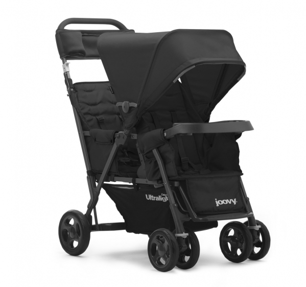 Sit/Stand or Sit/Sit Double Stroller