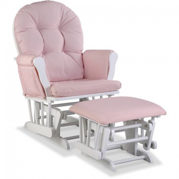 BabyQuip - Baby Equipment Rentals - Glider Chair and Ottoman - Glider Chair and Ottoman -