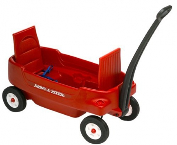 BabyQuip - Baby Equipment Rentals - Wagon with Seats - Wagon with Seats -