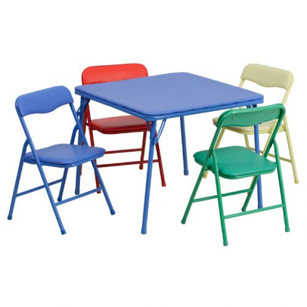 BabyQuip - Baby Equipment Rentals - Table and 4 Chair Set - Table and 4 Chair Set -