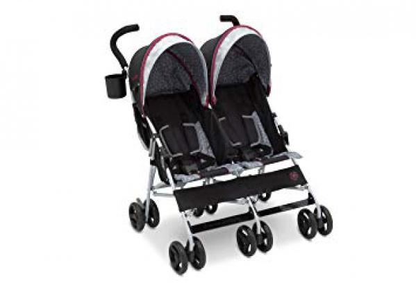 BabyQuip - Baby Equipment Rentals - Lightweight Double Stroller - Lightweight Double Stroller -