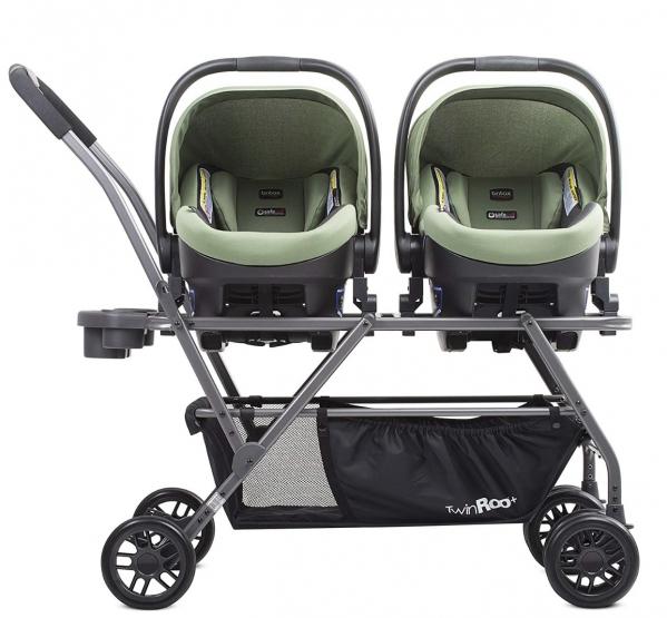 BabyQuip - Baby Equipment Rentals - Twin infant car seat stroller - for britax - Twin infant car seat stroller - for britax -