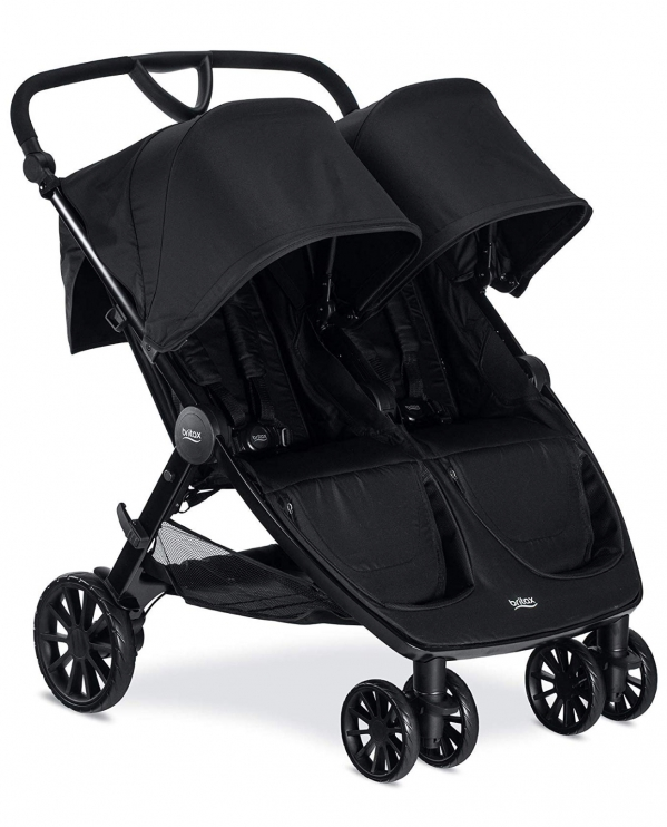 BabyQuip - Baby Equipment Rentals - Full Size Double Stroller - side by side - Full Size Double Stroller - side by side -