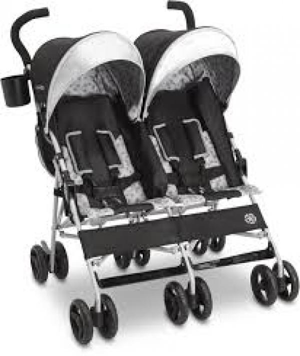 BabyQuip - Baby Equipment Rentals - Double Umbrella - Double Umbrella -