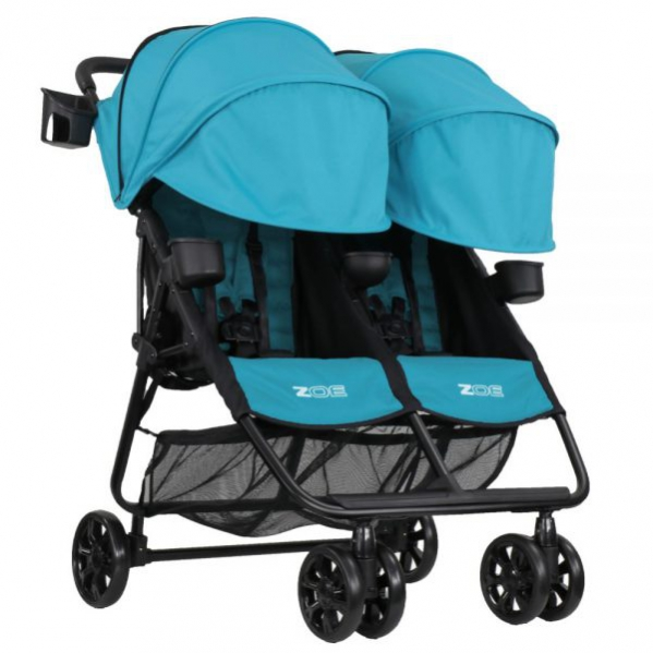 BabyQuip - Baby Equipment Rentals - Lightweight Travel Double Stroller - Lightweight Travel Double Stroller -