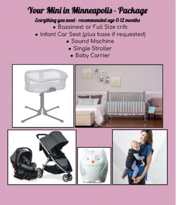 BabyQuip Baby Equipment Rentals - Your Mini in Minneapolis - Package - Brenda Chapman - Chaska, Minnesota