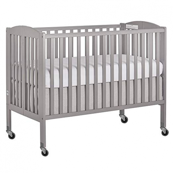 BabyQuip - Baby Equipment Rentals - Full Size Wooden Crib With Linens - Full Size Wooden Crib With Linens -