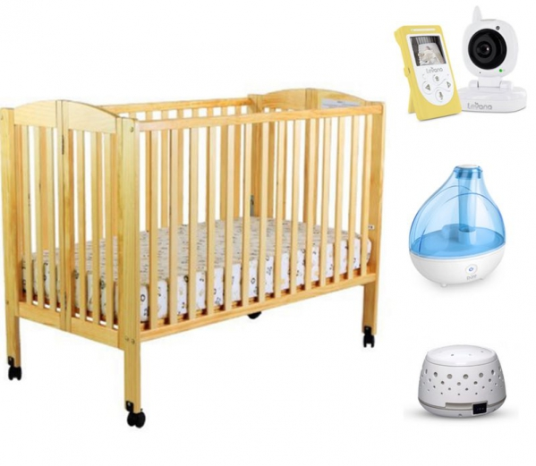 BabyQuip - Baby Equipment Rentals - Great Value! Crib Package for Infants to Toddlers - Great Value! Crib Package for Infants to Toddlers -