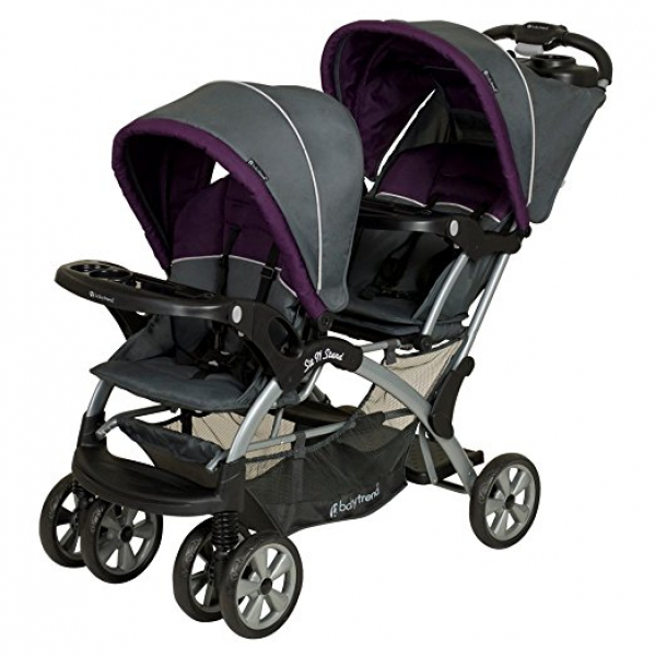 BabyQuip - Baby Equipment Rentals - Double Tandem Stroller Rental - Double Tandem Stroller Rental -