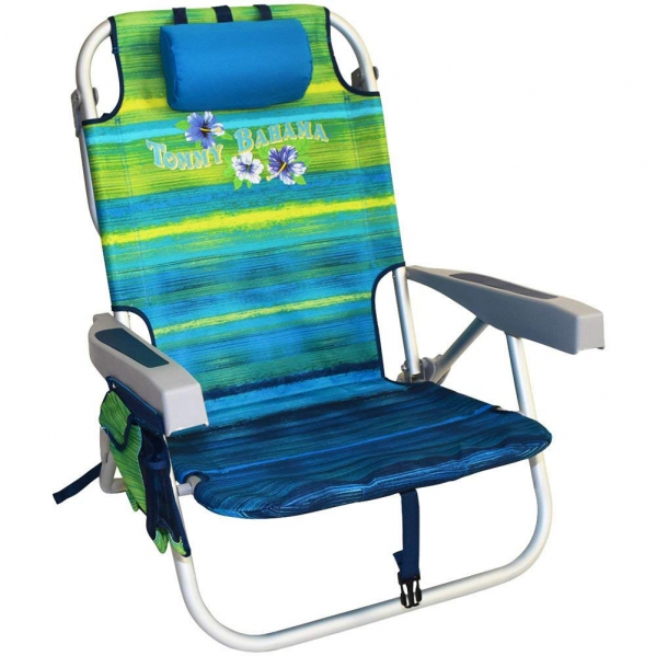 Backpack Beach Chair with Cooler