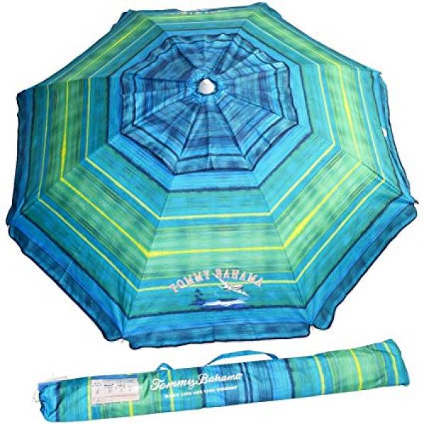 Beach Umbrella with easy carry bag and anchor