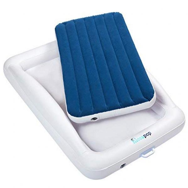 BabyQuip - Baby Equipment Rentals - Inflatable Toddler Bed with Linens - Inflatable Toddler Bed with Linens -