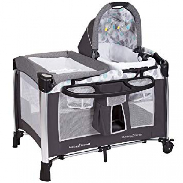 BabyQuip - Baby Equipment Rentals - Baby Trend Nursery Center Pack & Play w/ Bassinet - Baby Trend Nursery Center Pack & Play w/ Bassinet -