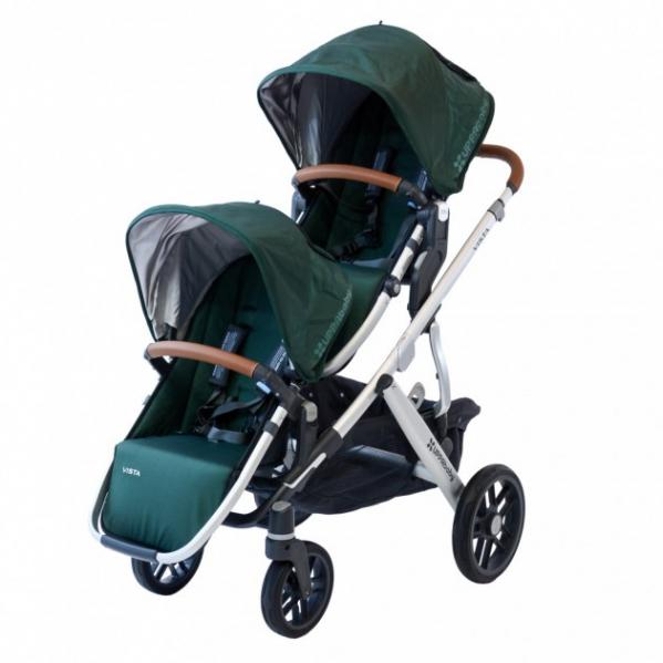BabyQuip - Baby Equipment Rentals - Uppababy Vista Double Stroller - Uppababy Vista Double Stroller -