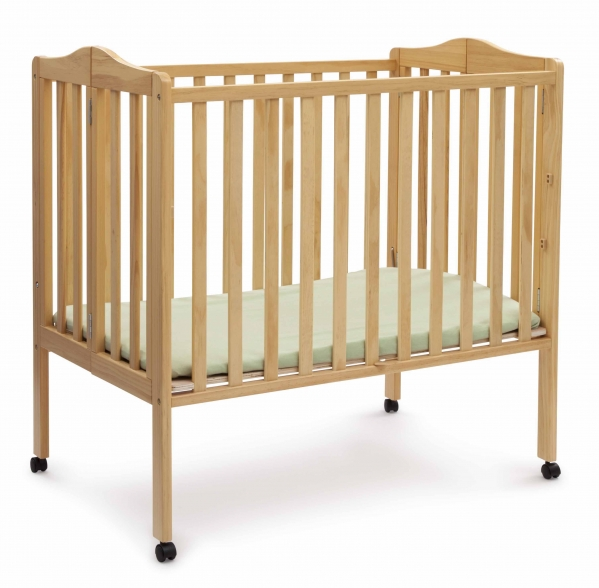 BabyQuip - Baby Equipment Rentals - Lightweight Folding Portable Crib - Lightweight Folding Portable Crib -