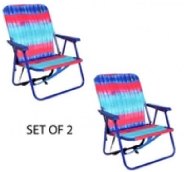 BabyQuip - Baby Equipment Rentals - Set of beach chairs with beach mat - Set of beach chairs with beach mat -