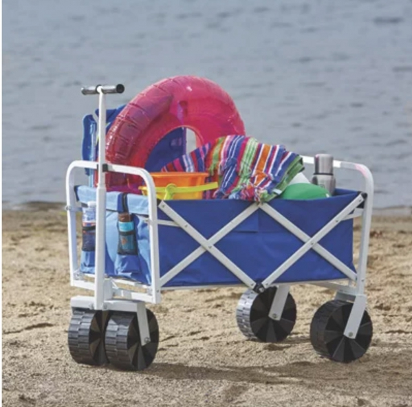 BabyQuip - Baby Equipment Rentals - Folding beach wagon - Folding beach wagon -