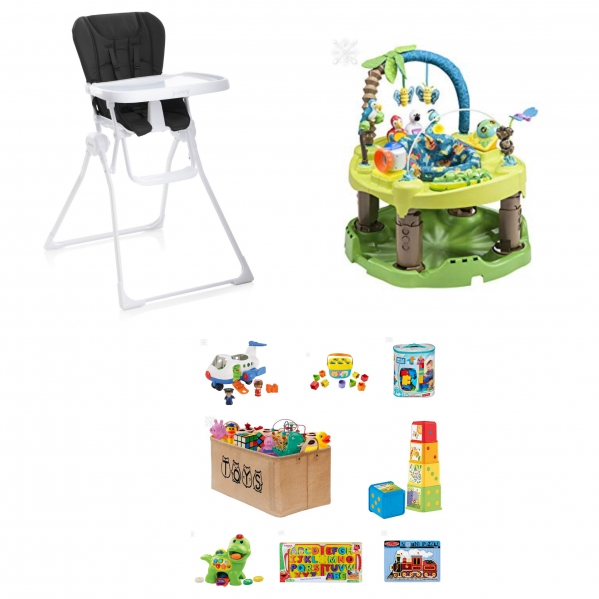 BabyQuip - Baby Equipment Rentals - Eat and Play Package - Eat and Play Package -