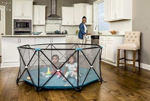 BabyQuip - Baby Equipment Rentals - Portable Indoor Outdoor Play Yard - Portable Indoor Outdoor Play Yard -