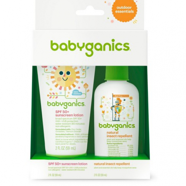 BabyQuip - Baby Equipment Rentals - Babyganics Outdoors Essentials Kit - Babyganics Outdoors Essentials Kit -