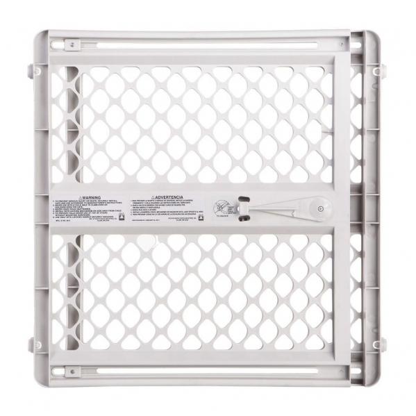 BabyQuip - Baby Equipment Rentals - Safety Gate: Position and Lock Plastic - Safety Gate: Position and Lock Plastic -