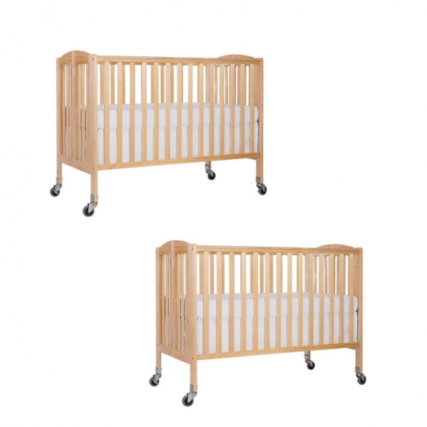 BabyQuip - Baby Equipment Rentals - Two Full Size Cribs - Twins and Siblings - Two Full Size Cribs - Twins and Siblings -