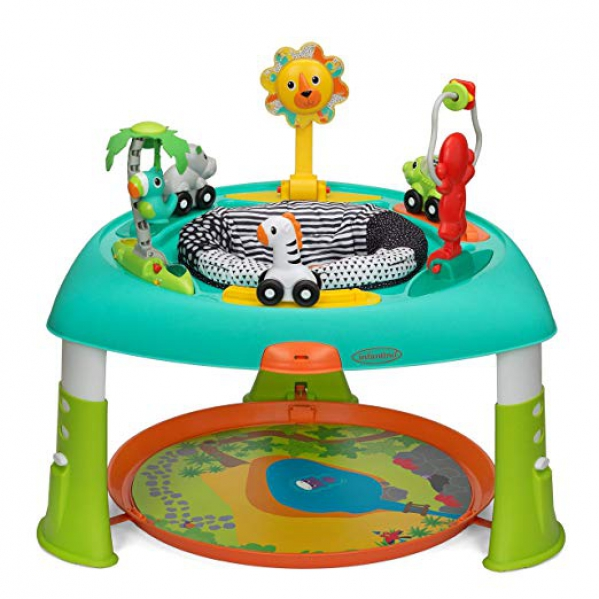 Exersaucer Infantino 2-in-1 Sit, Spin & Stand