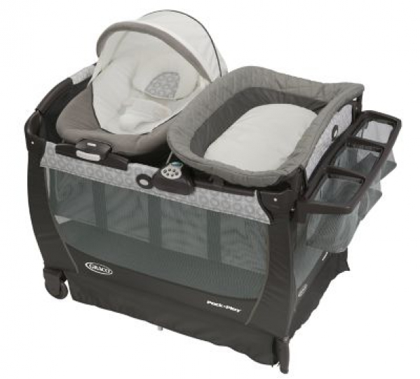 BabyQuip - Baby Equipment Rentals - Graco Pack 'n Play® Snuggle Suite™ LX Playard - Graco Pack 'n Play® Snuggle Suite™ LX Playard -