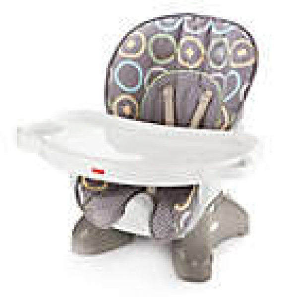 BabyQuip - Baby Equipment Rentals - Fisher Price SpaceSaver High Chair or Booster Seat - Fisher Price SpaceSaver High Chair or Booster Seat -