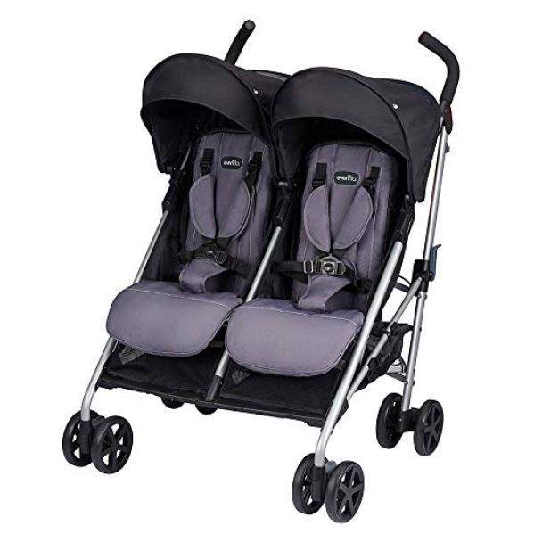 BabyQuip - Baby Equipment Rentals - Safety 1st Double Stroller - Safety 1st Double Stroller -
