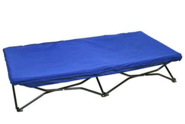 BabyQuip - Baby Equipment Rentals - Portable Toddler Cot with fitted sheet - Portable Toddler Cot with fitted sheet -