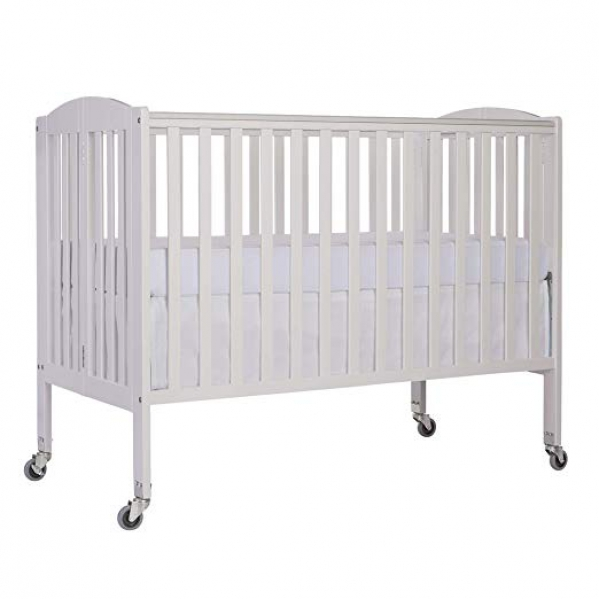 Large Crib with Linens and Ultrapedic Mattress
