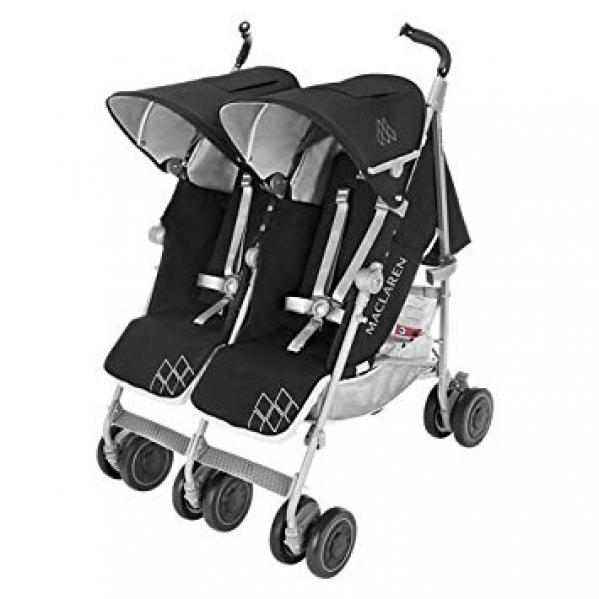 BabyQuip - Baby Equipment Rentals - Stroller - Maclaren Twin Techno Double  - Stroller - Maclaren Twin Techno Double  -