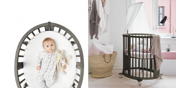 BabyQuip - Baby Equipment Rentals - Bassinet - Stokke Sleepi Mini  - Bassinet - Stokke Sleepi Mini  -