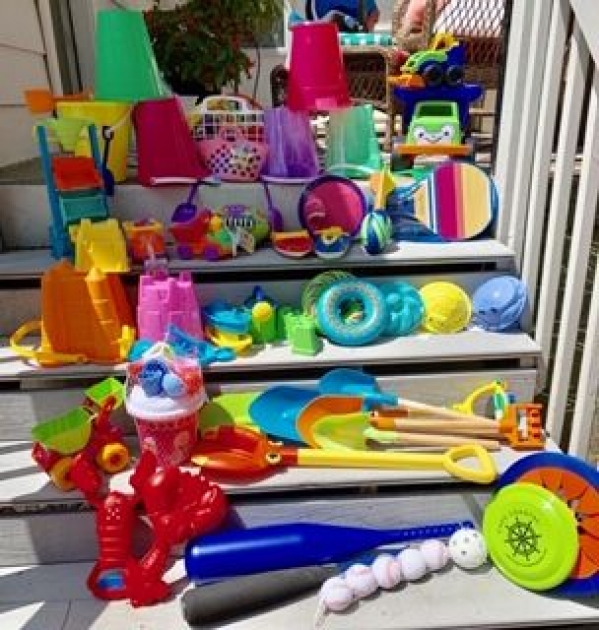 BabyQuip - Baby Equipment Rentals - Beach Toy Package - Beach Toy Package -