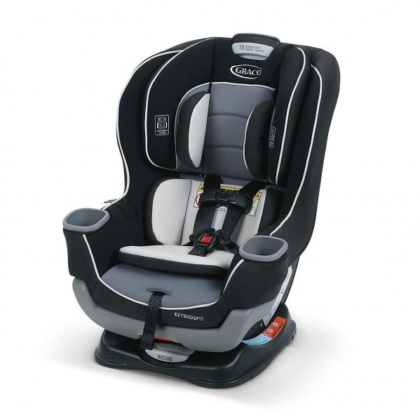 BabyQuip - Baby Equipment Rentals - Graco Extend2Fit Convertible Car Seat - Graco Extend2Fit Convertible Car Seat -