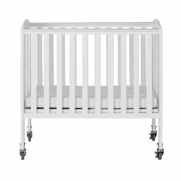 BabyQuip - Baby Equipment Rentals - Condo Size Mini Crib With Cotton Sheets - Condo Size Mini Crib With Cotton Sheets -