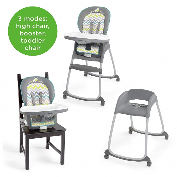 3-in-1 High Chair, Booster Chair, & Toddler Chair