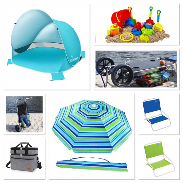BabyQuip - Baby Equipment Rentals - Beach Baby Package! - Beach Baby Package! -