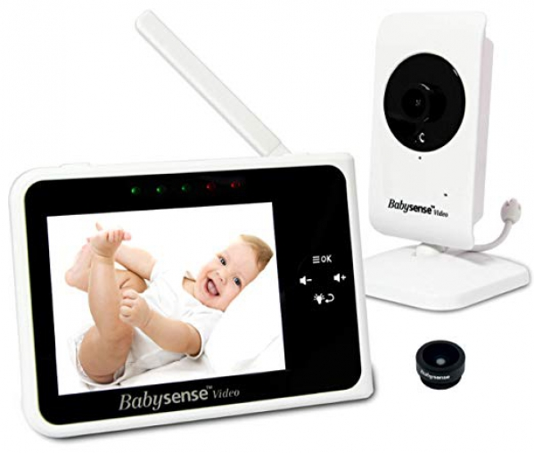BabyQuip - Baby Equipment Rentals - Babysense Video & Audio Monitor - Babysense Video & Audio Monitor -