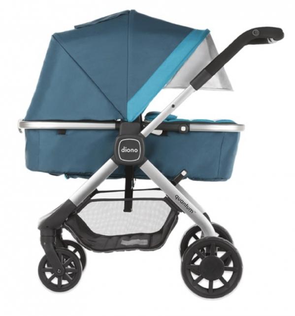 BabyQuip - Baby Equipment Rentals - Bassinet Stroller: Diono Quantum - Bassinet Stroller: Diono Quantum -