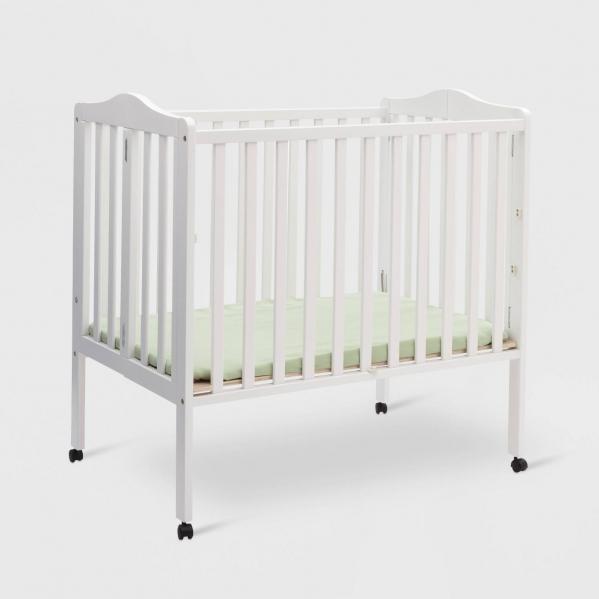 BabyQuip - Baby Equipment Rentals - Folding Portable Mini-Crib (with mattress) - Folding Portable Mini-Crib (with mattress) -