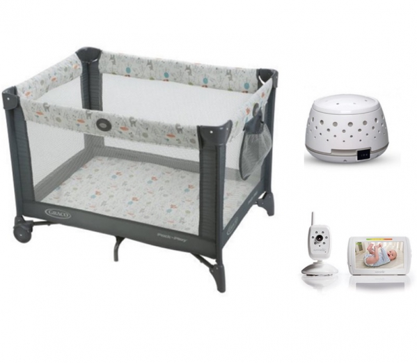 BabyQuip Baby Equipment Rentals - Package: Sleep Light - Kelsey Peach - Sanford, FL