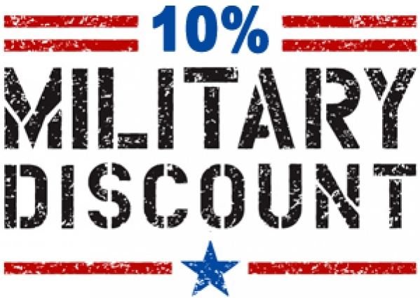 Military Discount **contact for discount code