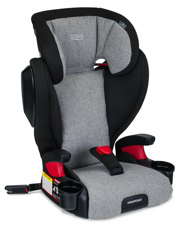 BabyQuip - Baby Equipment Rentals - Britax Highpoint Booster Car Seat - Britax Highpoint Booster Car Seat -