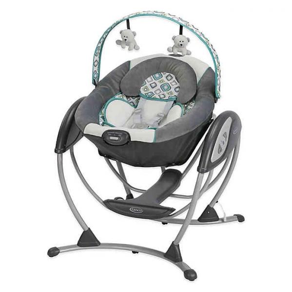 BabyQuip - Baby Equipment Rentals - Graco Glider LX Swing - Graco Glider LX Swing -