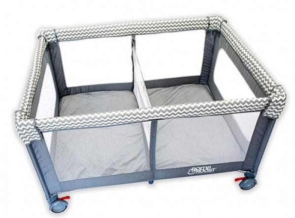 BabyQuip - Baby Equipment Rentals - Romp & Roost Luxe Playard - Romp & Roost Luxe Playard -